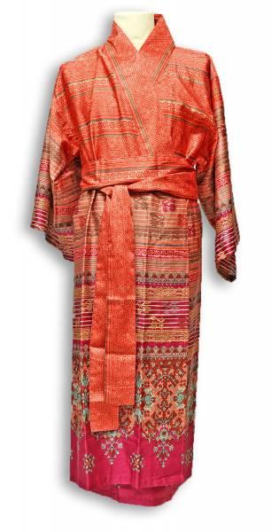 B3 Blau S-M Bassetti Kimono MAIORI V3